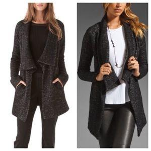 {THEORY} Clarania Brittania Wool Cardigan Jacket